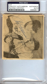 Fred Hutchinson & Red Rolfe Autographed 3.5x4 Newspaper Page Photo Detroit Tigers PSA/DNA #83908611