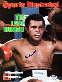 Muhammad Ali Autographed Sports Illustrated Magazine Cover PSA/DNA #AB04635