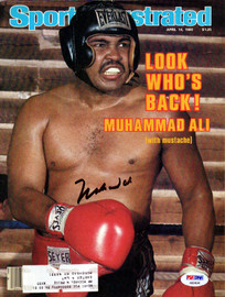 Muhammad Ali Autographed Sports Illustrated Magazine PSA/DNA #AB04640