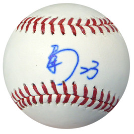Nori Aoki Autographed Official MLB Baseball In Kanji Seattle Mariners PSA/DNA #AB49711