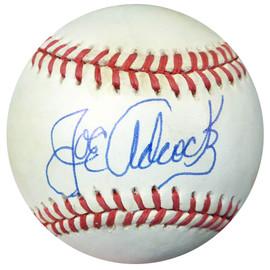 Joe Adcock Autographed Official NL Baseball Braves PSA/DNA #AB86976