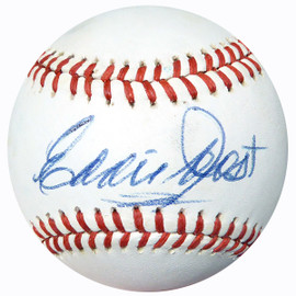 Eddie Joost Autographed Official AL Baseball Red Sox, A's PSA/DNA #AC23099