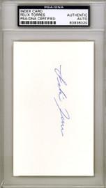 Felix Torres Autographed 3x5 Index Card Los Angeles Angels PSA/DNA #83936320