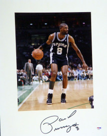 Paul Pressey Autographed 16x20 Matted Photo San Antonio Spurs PSA/DNA #AB53613