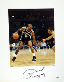 Paul Pressey Autographed 16x20 Matted Photo San Antonio Spurs PSA/DNA #AB53612