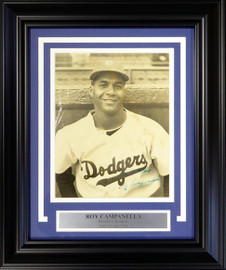 "Roy Campanella Autographed Framed 8x10 Magazine Page Photo Brooklyn Dodgers ""Best Wishes"" PSA/DNA #AC00434"
