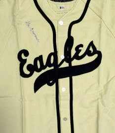 Newark Eagles Don Newcombe Autographed Jersey Beckett BAS #B26314