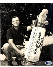 Ernie Vossler Autographed 7x9 Photo Beckett BAS #B26995