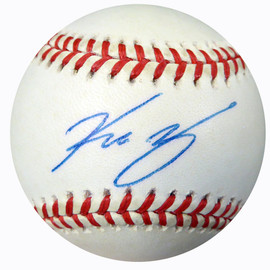 Kazuhiro Sasaki Autographed Official MLB Baseball Seattle Mariners Beckett BAS #B26650
