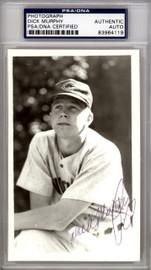 Dick Murphy Autographed 3.5x5.5 Photo Cincinnati Reds PSA/DNA #83964119
