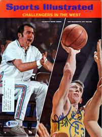 Jeff Mullins Autographed Sports Illustrated Magazine San Francisco Warriors Beckett BAS #B63812