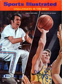 Jeff Mullins Autographed Sports Illustrated Magazine San Francisco Warriors Beckett BAS #B63813