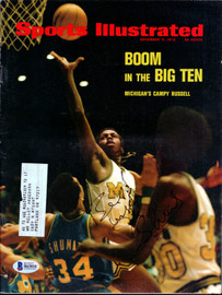 John Shumate Autographed Sports Illustrated Magazine Notre Dame Fighting Irish Beckett BAS #B63816