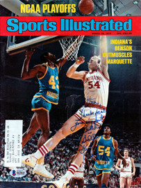 "Kent Benson Autographed Sports Illustrated Magazine Indiana Hoosiers ""To Stan"" Beckett BAS #B63843"