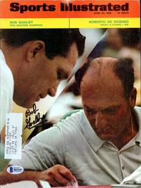 Bob Goalby Autographed Sports Illustrated Magazine Beckett BAS #B61149