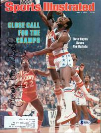 Dan Roundfield Autographed Sports Illustrated Magazine Atlanta Hawks Beckett BAS #B63917