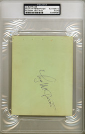 Tug McGraw Autographed 4.5x6 Album Page New York Mets PSA/DNA #83964285