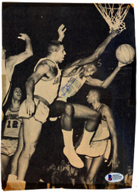 Wayne Hightower Autographed 7x10 Magazine Page Photo Golden State Warriors Beckett BAS #C01959