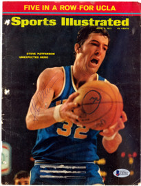 Steve Patterson Autographed Sports Illustrated Magazine Cover UCLA Bruins Beckett BAS #C01967