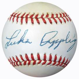 Luke Appling Autographed Official AL Baseball Chicago White Sox Beckett BAS #B62198