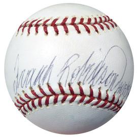 Frank Robinson Autographed Official MLB Baseball Baltimore Orioles Beckett BAS #C01795