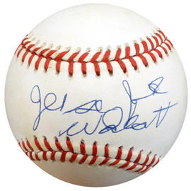 Jersey Joe Walcott Autographed Official NL Baseball Beckett BAS #C71253