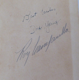 Roy Campanella Autographed Book Los Angeles Dodgers Pre Accident Beckett BAS #A83616
