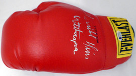 """""""Terrible"""" Tim Witherspoon Autographed Red Everlast Boxing Glove Beckett BAS #C71421"""