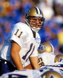 "Marques Tuiasosopo Autographed 16x20 Photo Washington Huskies ""01 Rose Bowl Champs"" MCS Holo Stock #10533"