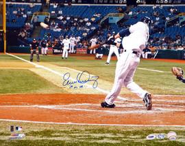 "Evan Longoria Autographed 16x20 Photo Tampa Bay Rays ""1st ML HR"" PSA/DNA Stock #14407"