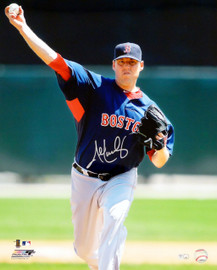 John Lackey Autographed 16x20 Photo Boston Red Sox MLB Holo Stock #17310
