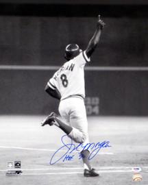 "Joe Morgan Autographed 16x20 Photo Cincinnati Reds ""HOF 90"" PSA/DNA Stock #17984"