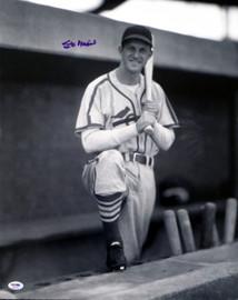 Stan Musial Autographed 16x20 Photo St. Louis Cardinals PSA/DNA Stock #18610