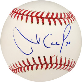 Mike Carp Autographed Official MLB Baseball Boston Red Sox MCS Holo Stock #18723