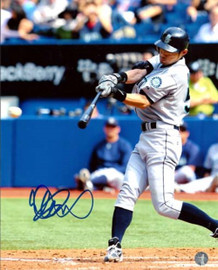 Ichiro Suzuki Autographed 8x10 Photo Seattle Mariners IS Holo Stock #20450