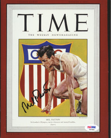 Mel Patton Autographed 8x10 Photo Team USA PSA/DNA #F51992
