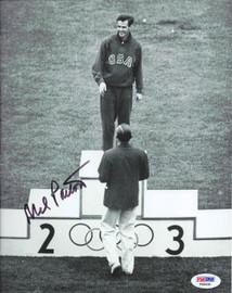 Mel Patton Autographed 8x10 Photo Team USA PSA/DNA #F66935