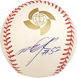 Munenori Kawasaki Autographed Official 2009 WBC Baseball Toronto Blue Jays PSA/DNA Stock #22961