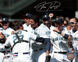 Felix Hernandez Autographed 8x10 Photo Seattle Mariners Perfect Game PSA/DNA Stock #28188