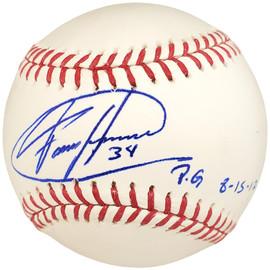 "Felix Hernandez Autographed Official MLB Baseball Seattle Mariners ""PG 8-15-12"" PSA/DNA Stock #28190"