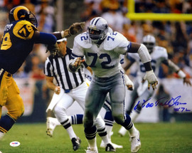 "Ed ""Too Tall"" Jones Autographed 16x20 Photo Dallas Cowboys PSA/DNA ITP Stock #53210"