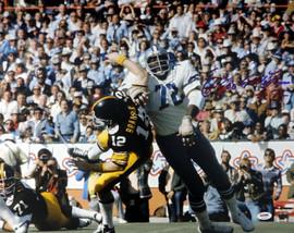 "Ed ""Too Tall"" Jones Autographed 16x20 Photo Dallas Cowboys PSA/DNA ITP Stock #53211"