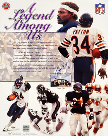Walter Payton Autographed 16x20 Poster Photo Chicago Bears PSA/DNA Stock #56040