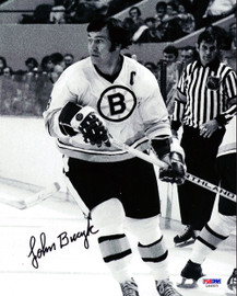 John Bucyk Autographed 8x10 Photo Boston Bruins PSA/DNA #L64923