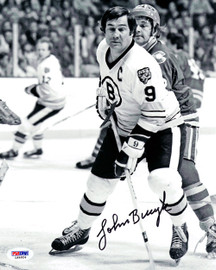 John Bucyk Autographed 8x10 Photo Boston Bruins PSA/DNA #L64924