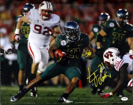LaMichael James Autographed 16x20 Photo Oregon Ducks PSA/DNA Stock #65551