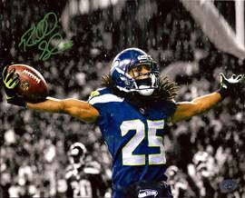 Richard Sherman Autographed 8x10 Photo Seattle Seahawks RS Holo Stock #71535