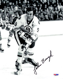 John Bucyk Autographed 8x10 Photo Boston Bruins PSA/DNA #L65577