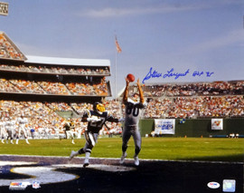 "Steve Largent Autographed 16x20 Photo Seattle Seahawks ""HOF 95"" PSA/DNA ITP Stock #77719"