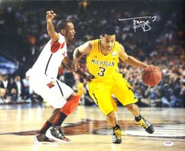 Trey Burke Autographed 16x20 Photo Michigan Wolverines PSA/DNA Stock #79260